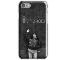 """Steve Jobs Says: """"Screw You Android"""" iPhone Case/Skin"""