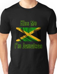 Kiss Me I'm Jamaican Unisex T-Shirt
