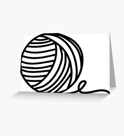 Yarn Addict Greeting Card
