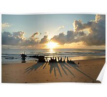 sunrise at ss dicky  Poster
