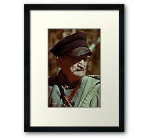 Texas Army Soldier Framed Print