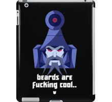 "Transformers - ""Scourge"" (with Slogan) iPad Case/Skin"