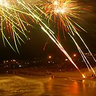 newyears at kings beach  by warren dacey