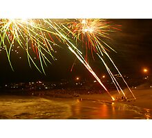 newyears at kings beach  Photographic Print