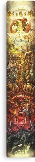 Legend of Zelda Mural by Aslfrasle