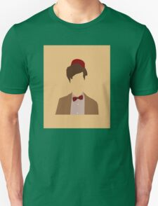 11th Doctor minimalist art Matt Smith Unisex T-Shirt