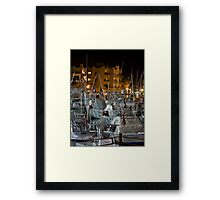 Out Riggers of Cabo Framed Print