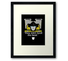 "Transformers - ""Sunstreaker (with Motto)"" Framed Print"