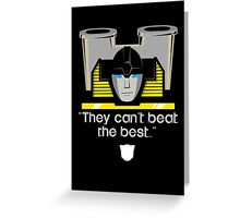 "Transformers - ""Sunstreaker (with Motto)"" Greeting Card"