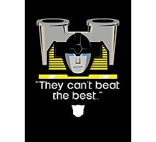 "Transformers - ""Sunstreaker (with Motto)"" Photographic Print"