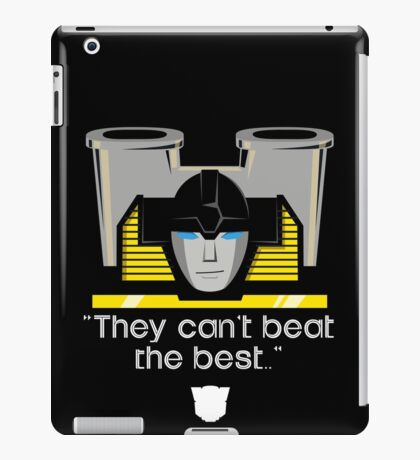 "Transformers - ""Sunstreaker (with Motto)"" iPad Case/Skin"