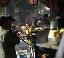 Street food, Delhi by simoneandginko