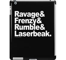 "Transformers - ""Text"" iPad Case/Skin"