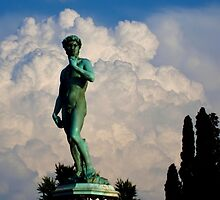 Statue of David at Michelangelo's Plaza by agedog
