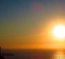 Sunset in Santorini by agedog