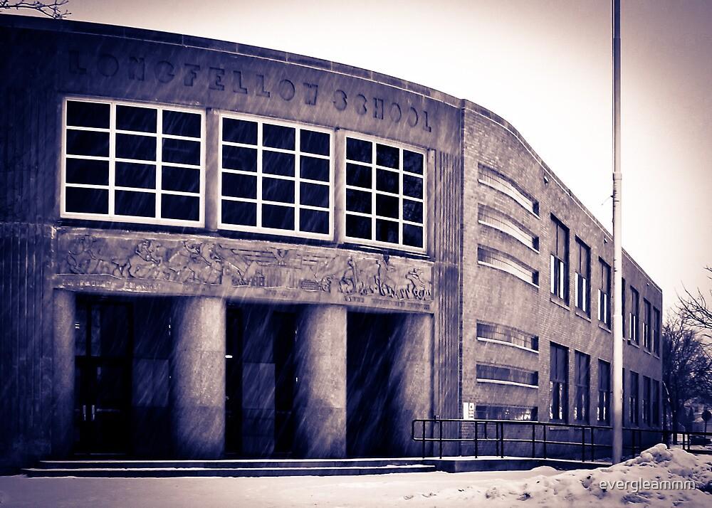Longfellow School II by evergleammm