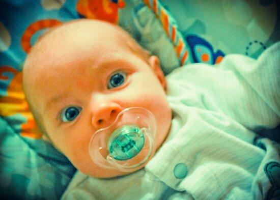 Baby eyes by Laura Godden
