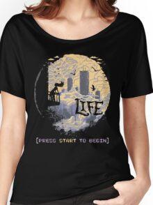 Press Start Women's Relaxed Fit T-Shirt