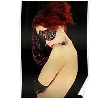 My Eyes Whisper Secrets That I Keep Covered  II Poster
