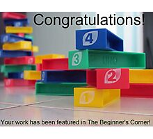 The Beginner's Corner - featured image banner Photographic Print
