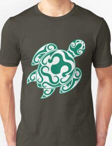 Tribal color turtle Unisex T-Shirt