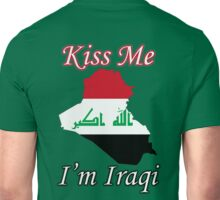 Kiss Me I'm Iraqi Unisex T-Shirt