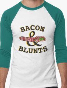 Bacon & Blunts  Men's Baseball ¾ T-Shirt