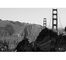 Golden Gate sf1 Photographic Print