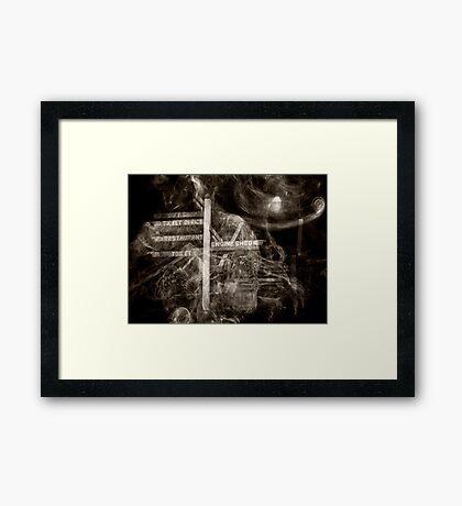 Mystery Tour Framed Print