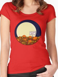 Welcome Great Pumpkin! Women's Fitted Scoop T-Shirt