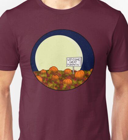 Welcome Great Pumpkin! Unisex T-Shirt