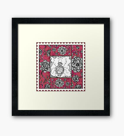 Insect Aside Framed Print