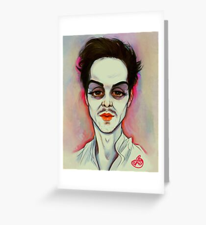 Andrew Scott: Mwah Greeting Card