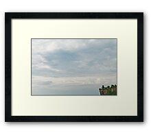 Sky Temple Framed Print