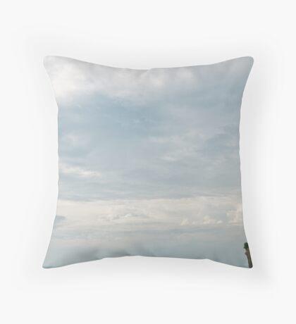 Sky Temple Throw Pillow