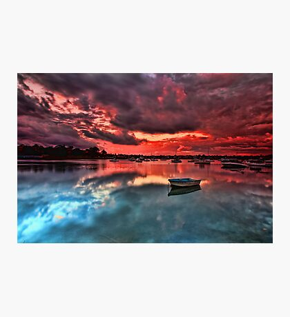 Floating Peacefully Photographic Print