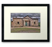 Courthouse, Little Hartley, NSW, Australia Framed Print