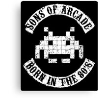 Sons of Arcade Canvas Print