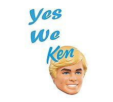 Yes We Ken Photographic Print