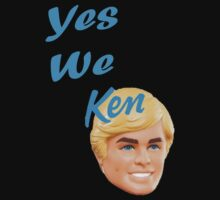 Yes We Ken Kids Tee
