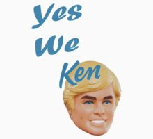 Yes We Ken One Piece - Short Sleeve