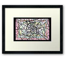 Tangled Web Framed Print