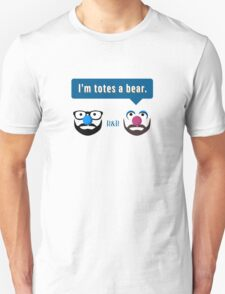 Roger & Bryce - I'm totes a bear (light) T-Shirt