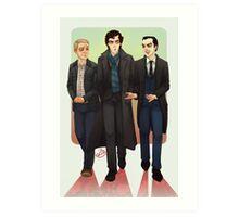 Baker Street BAMFS Art Print