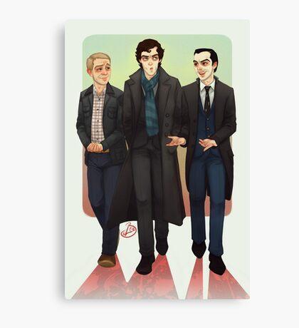 Baker Street BAMFS Canvas Print
