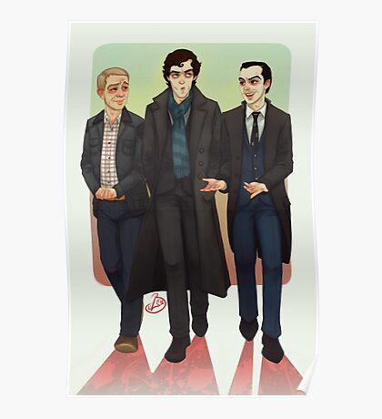 Baker Street BAMFS Poster