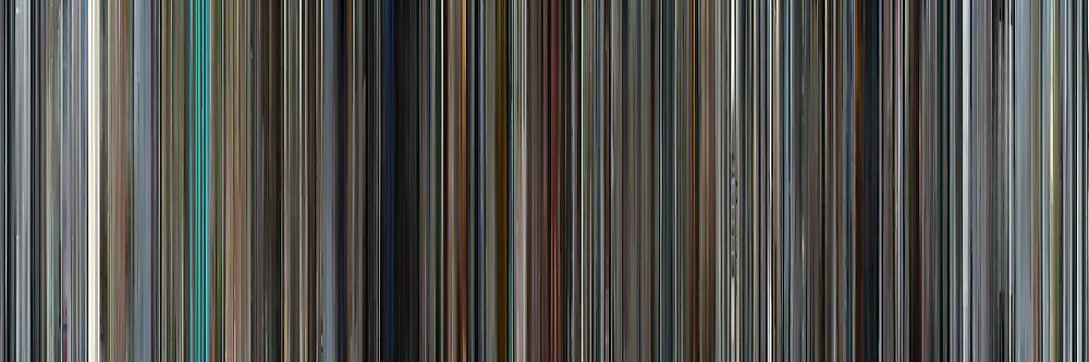 Moviebarcode: Mr. Nobody (2009) by moviebarcode