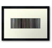 Moviebarcode: Mr. Nobody (2009) Framed Print