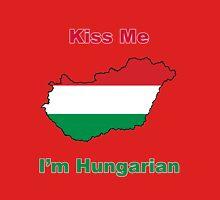 Kiss Me I'm Hungarian Unisex T-Shirt