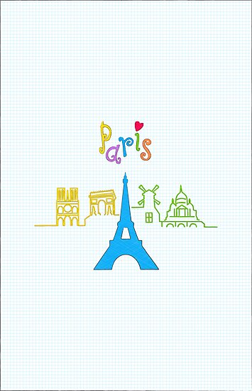 I love Paris by favoritedarknes